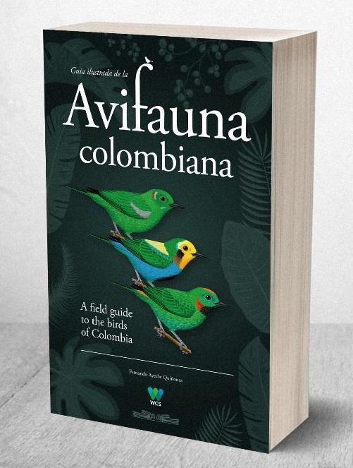 Guía ilustrada de la avifauna colombiana F.Ayerbe - WCS